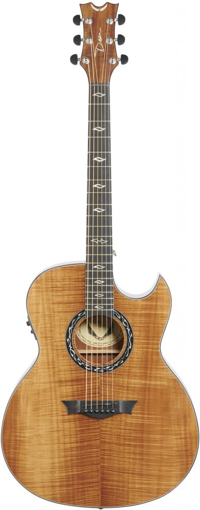 Thin Body Acoustic Guitar Dean