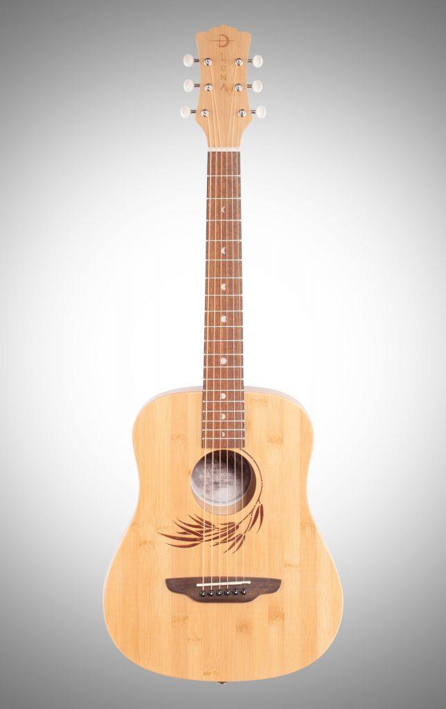 Luna Safari Bamboo Travel Acoustic Guitar