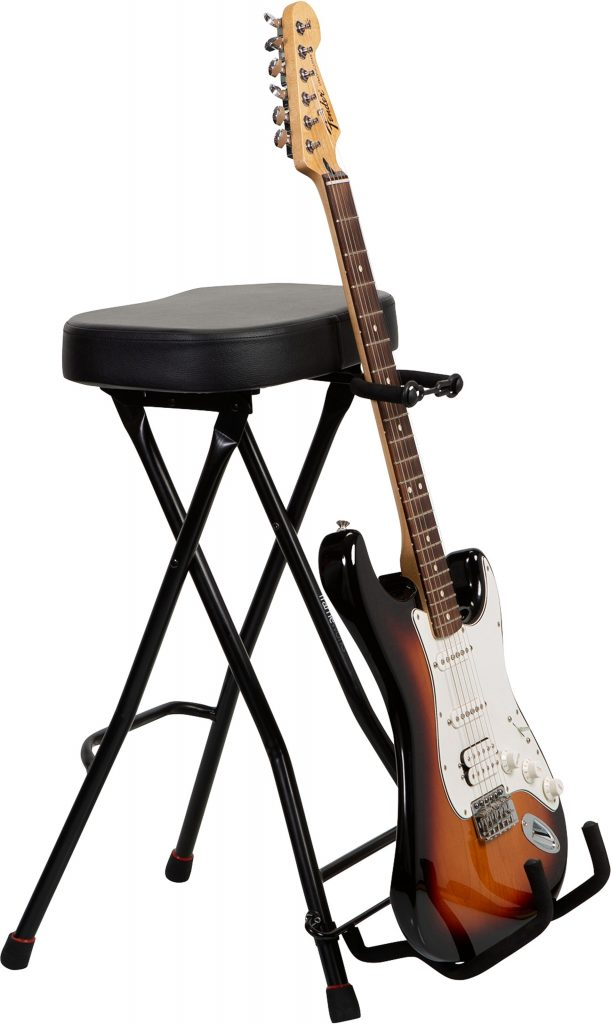 Gator GFW-GTRSTOOL Guitar Stool with Guitar Stand