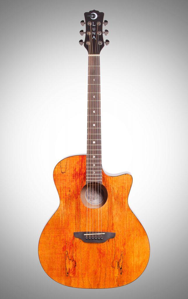 Luna Gypsy Spalt Grand Auditorium Acoustic Guitar