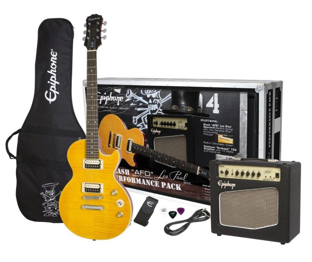 Electric Guitar Starter Kit - Epiphone Slash Appetite for Destruction Les Paul Performance Pack
