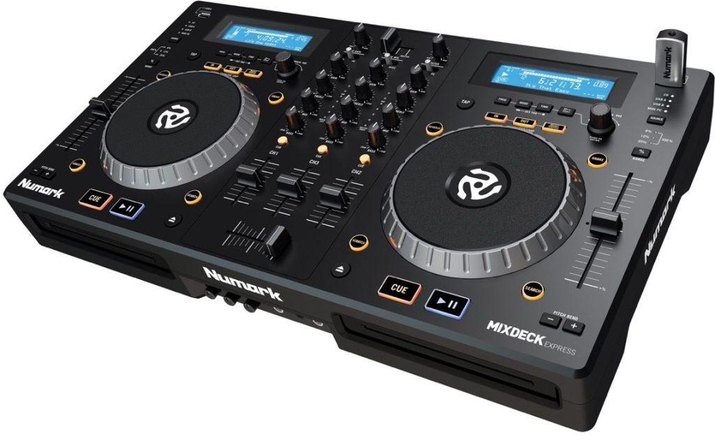 Numark MixDeck Express Multi-Format USB DJ CD Controller System