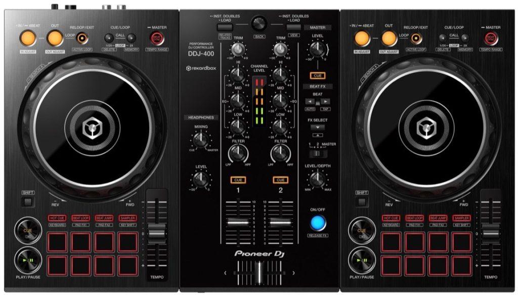 Pioneer DJ DDJ-400 Controller for Rekordbox DJ