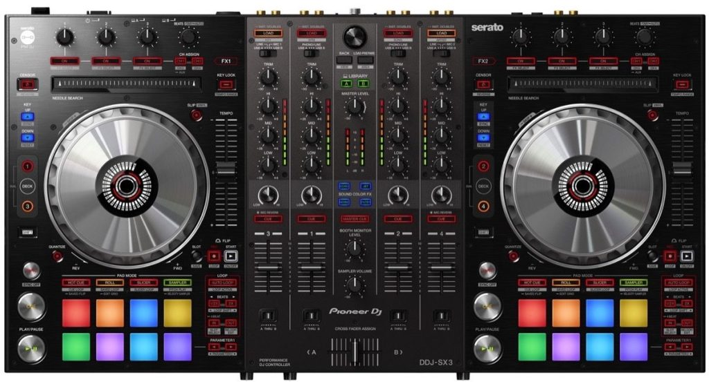 Pioneer DJ DDJ-SX3 Professional DJ Controller