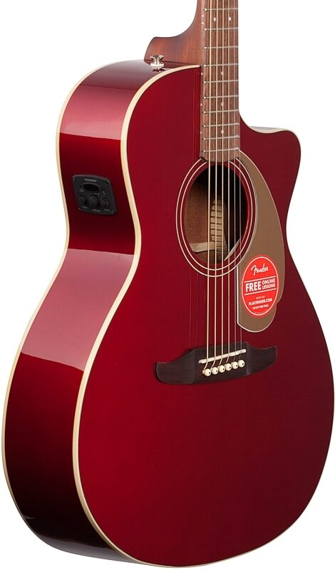 Fender Newporter Player Acoustic-Electric Guitar
